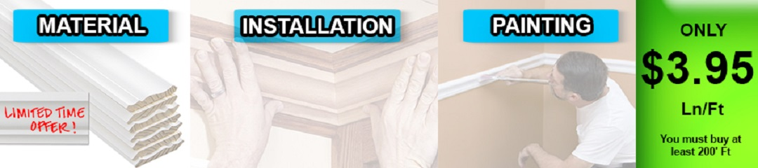 Cheap Crown Molding Installation Houston