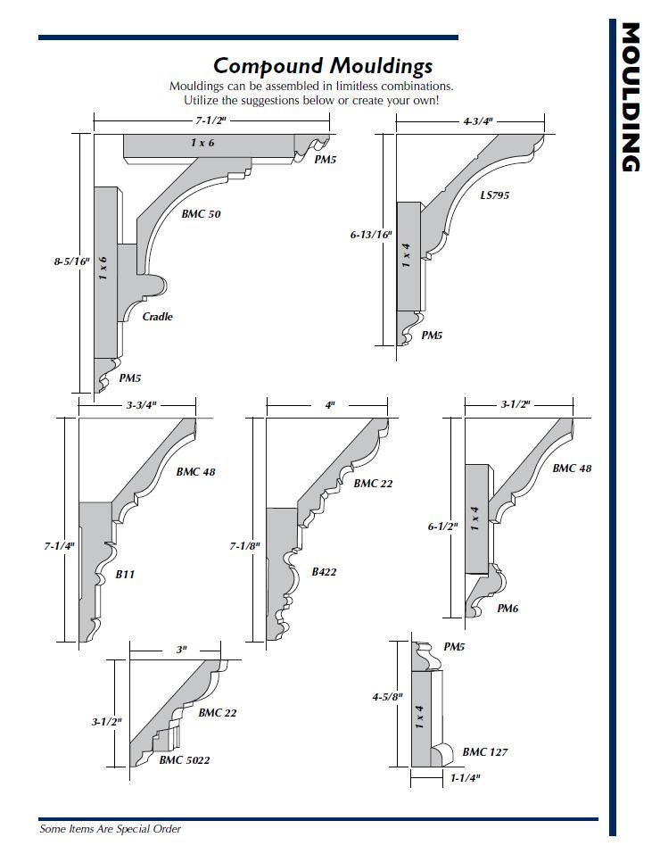 Hardwood Compound Moldings