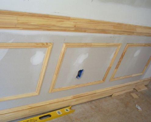 Wood Chair Rail Molding